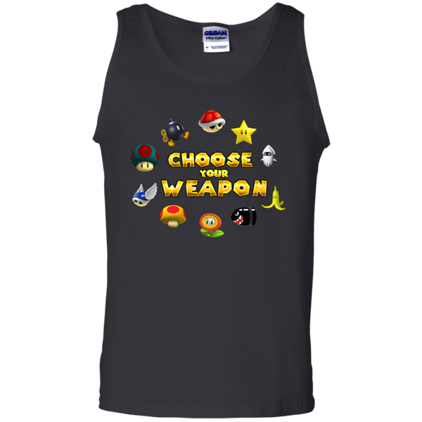 Choose Your Weapon Kart Mens Tank Top