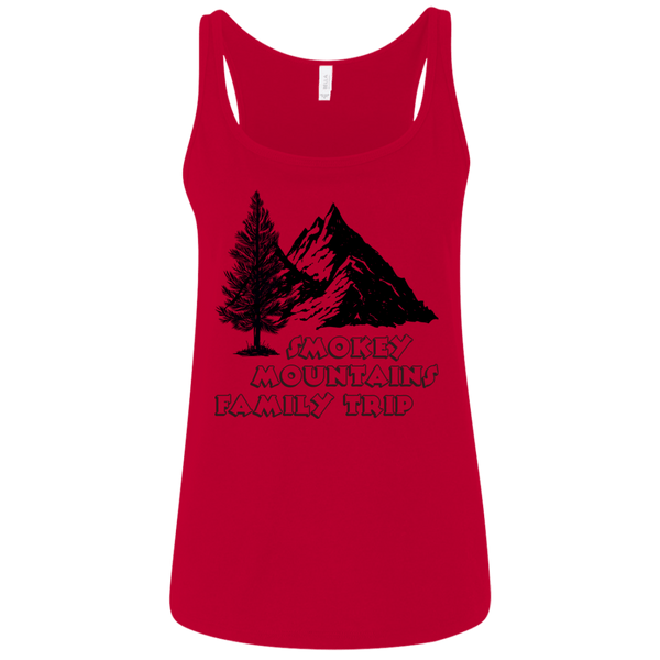Smokey Mountains 6488 Bella + Canvas Ladies' Relaxed Jersey Tank