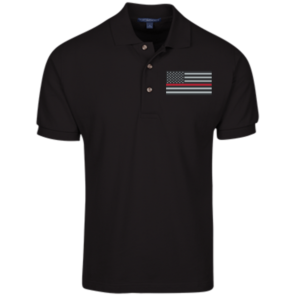 American Red Line Mens Cotton Knit Polo