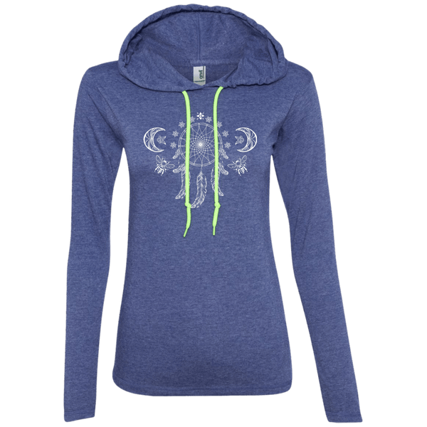 Dreamcatcher Moon Ladies Hoodie
