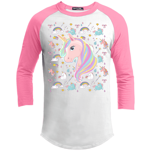 Unicorn Fantasy Sporty Tee Shirt