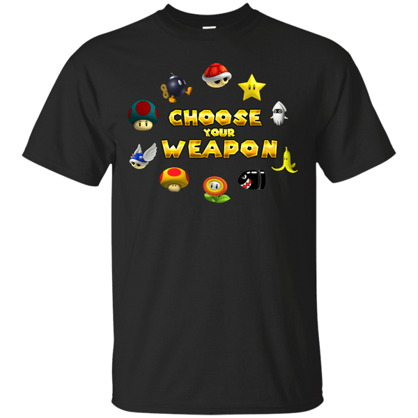 Choose Your Weapon Kart Mens Tshirt