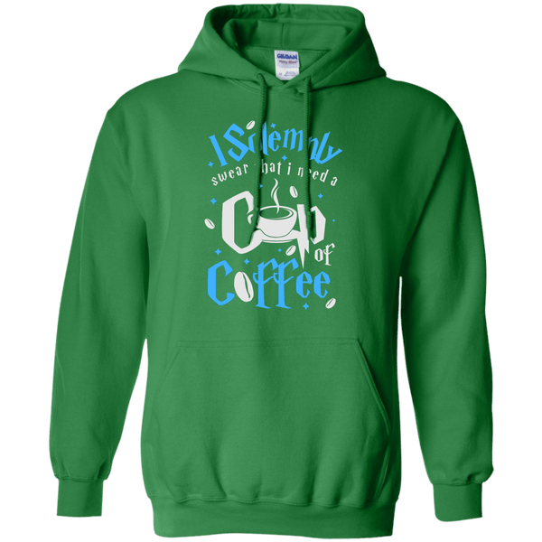 I Solemnly Swear I Need Coffee Hoodie