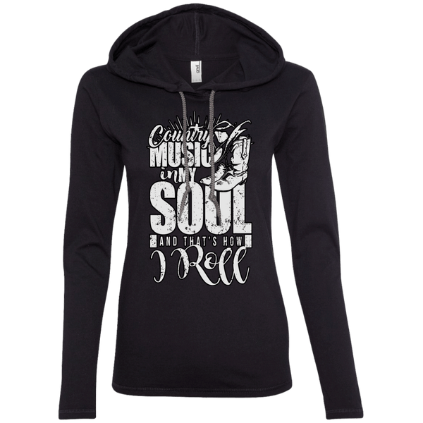Country Music Soul Ladies Hoodie