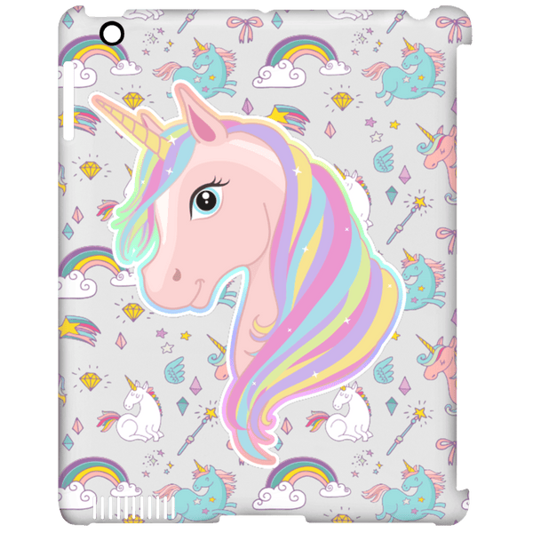Unicorn Fantasy iPad Clip Case