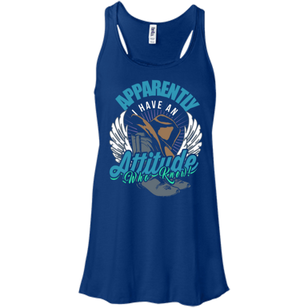 Country Attitude Flowy Racerback Tank