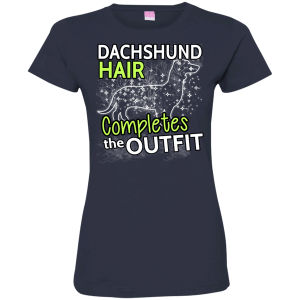 Dachshund Hair Womens Tshirt