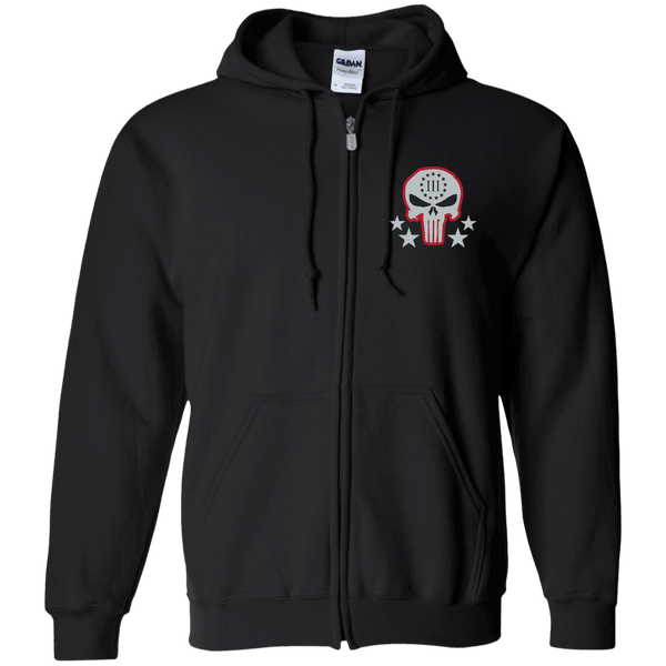 Three Percenter Zip Up Hoodie