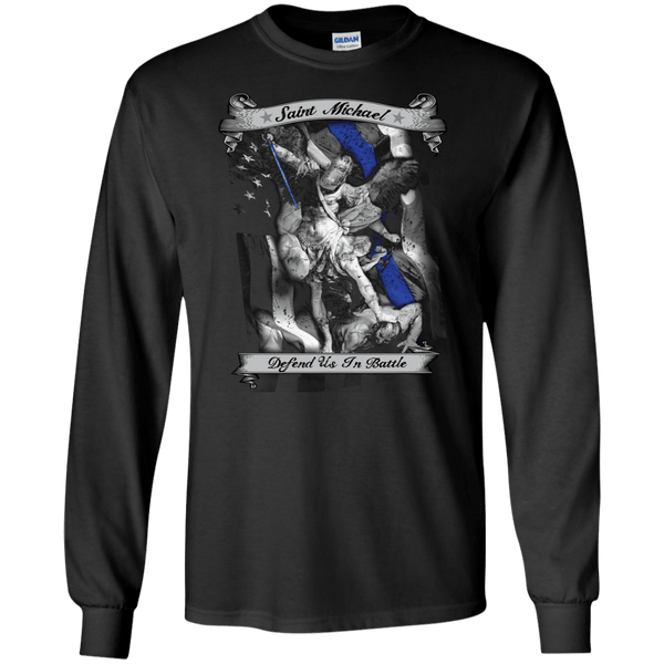 St. Michael Defend Us Long Sleeve