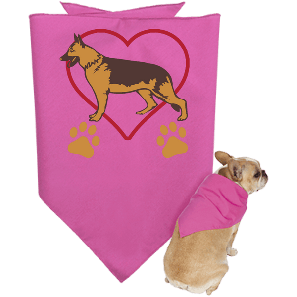 German Shepherd Doggie Bandana