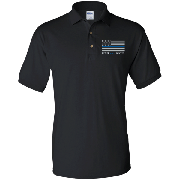 American Blue Line Jersey Mens Polo