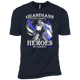 Blue Line Warrior Tshirt