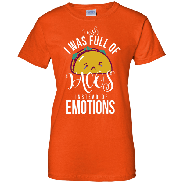 Full of Tacos Ladies T-Shirt