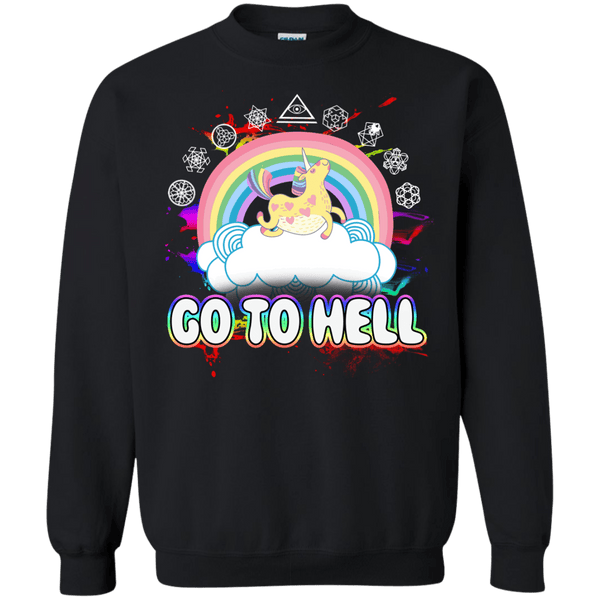 Go To Hell Pullover Sweatshirt