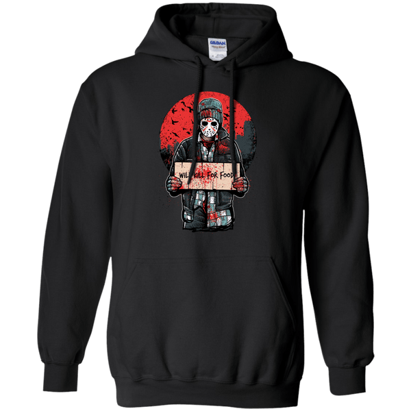 Will Kill For Food Hoodie
