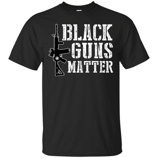 Black Guns Matter Mens Tshirt