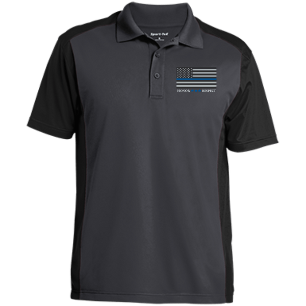 American Blue Line Mens Sport-Wick Polo