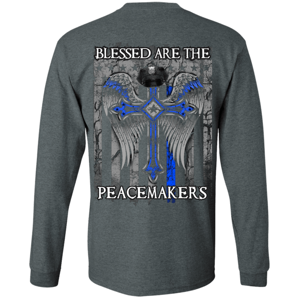 Blessed Are The Peacemakers LS Tshirt