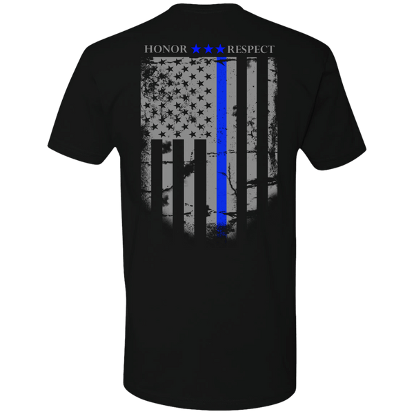 Blue Line Honor Tshirt