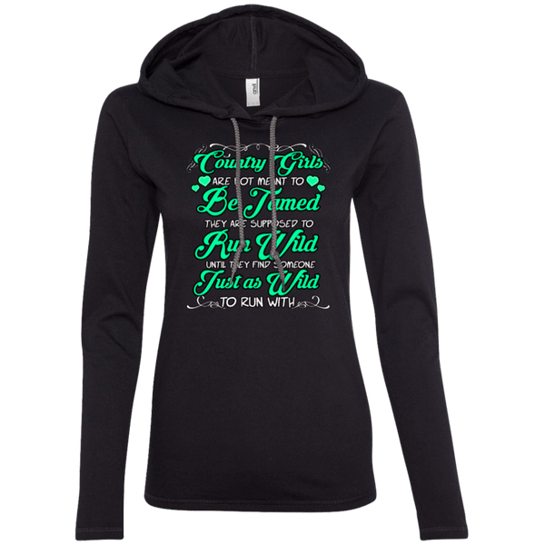 Country Girls Ladies Hoodie