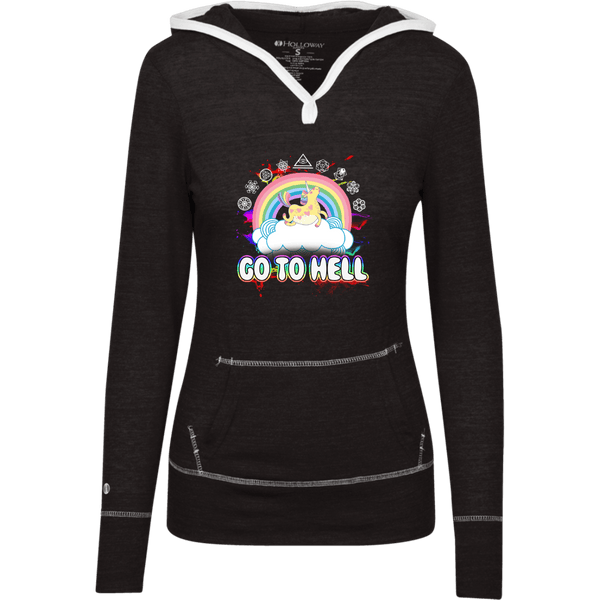 Go To Hell Junior Lightweight T-Shirt Hoodie