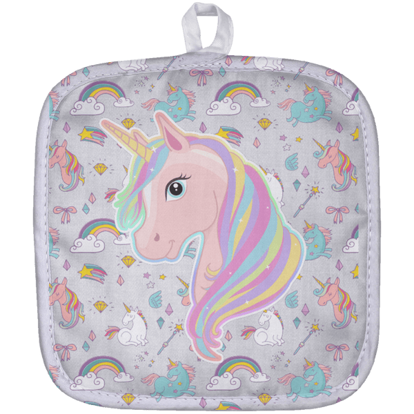 Unicorn Fantasy Pot Holder