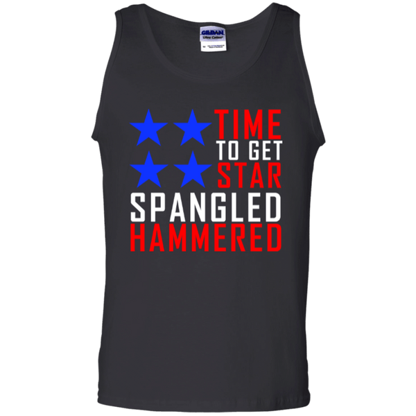 Time To Get Star Spangled Hammered Mens Tank