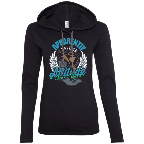 Country Attitude Ladies Hoodie