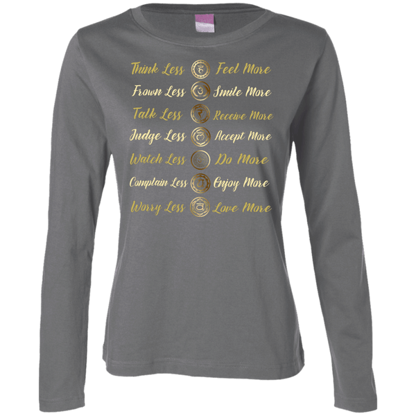 Chakra Life Ladies Long Sleeve TShirt