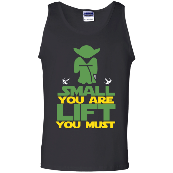 Small You Are Lift You Must Mens Tank Top