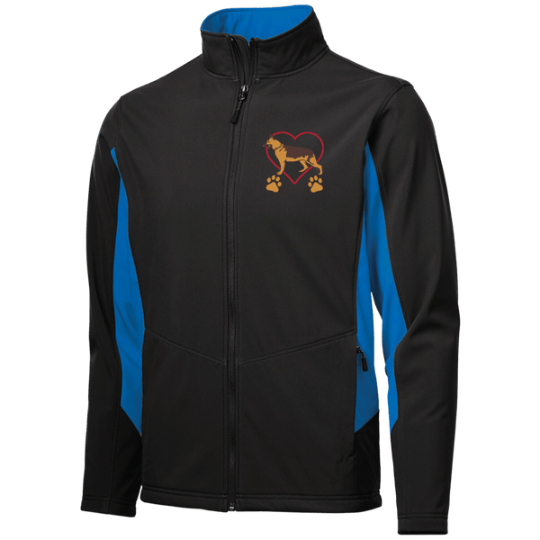 German Shepherd Love Soft Shell Jacket