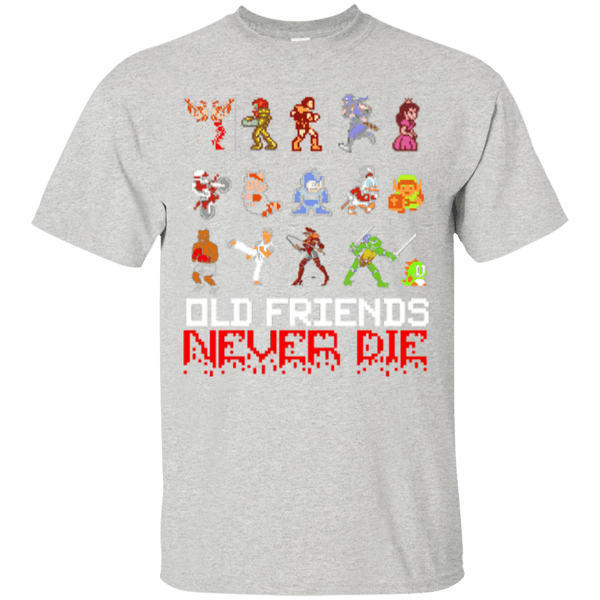 Old Friends Never Die Mens Tshirt