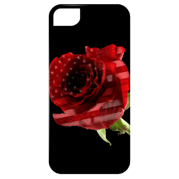 Red Line Rose Phone Case