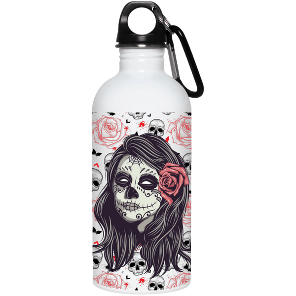 Sugar Rose Steel Water Bottle