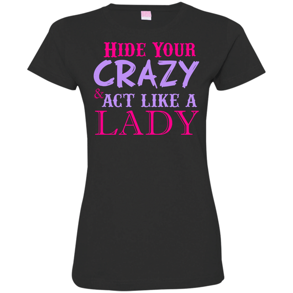 Ladies Custom Fine Jersey T-Shirt