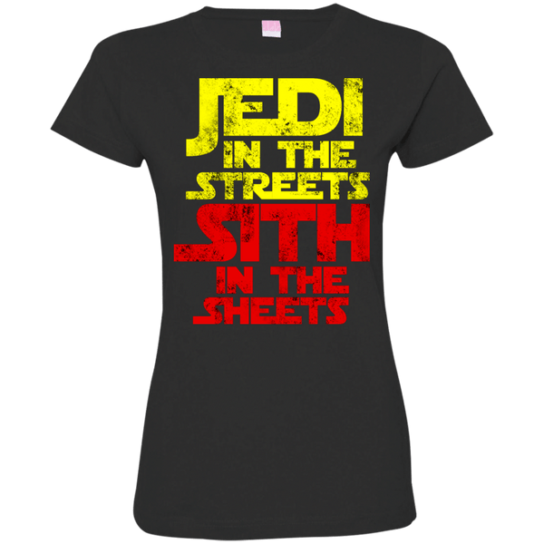 Jedi In The Streets Womens Tshirt
