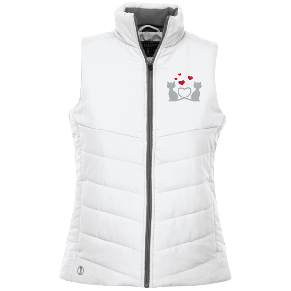 Kitty Love Ladies Quilted Vest