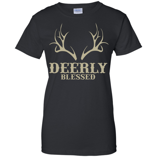 Deerly Blessed Ladies T-Shirt