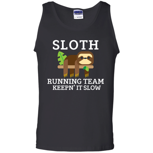 Sloth Running Team Mens Tank Top