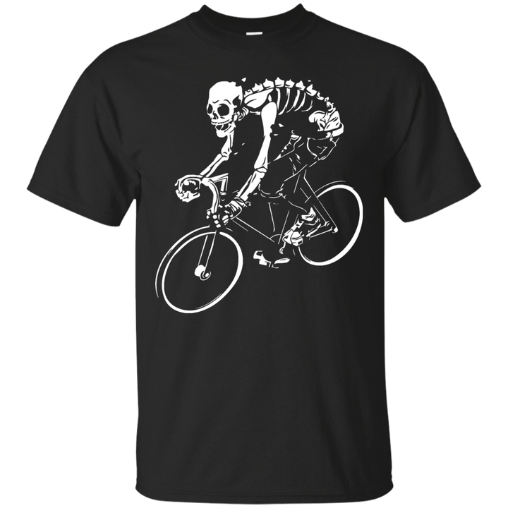 Bicycle Skeleton Mens Tshirt