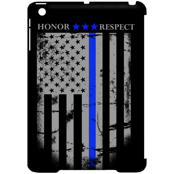 Blue Line Flag iPad Mini Clip Case
