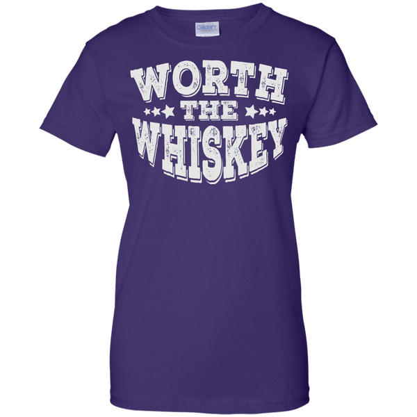 Worth the Whiskey Ladies T-Shirt