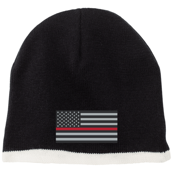 American Red Line Beanie