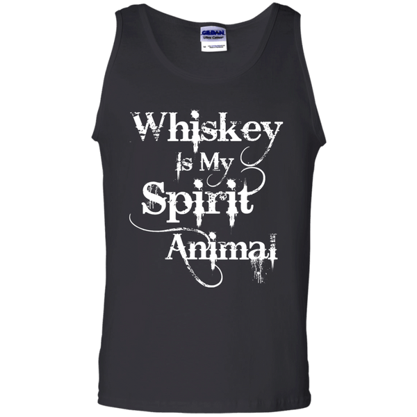 Whiskey Is My Spirit Animal Mens Tank