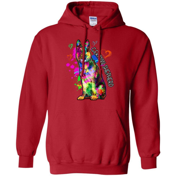 Apparel - German Shepherd Art Sweatshirt/Hoodie