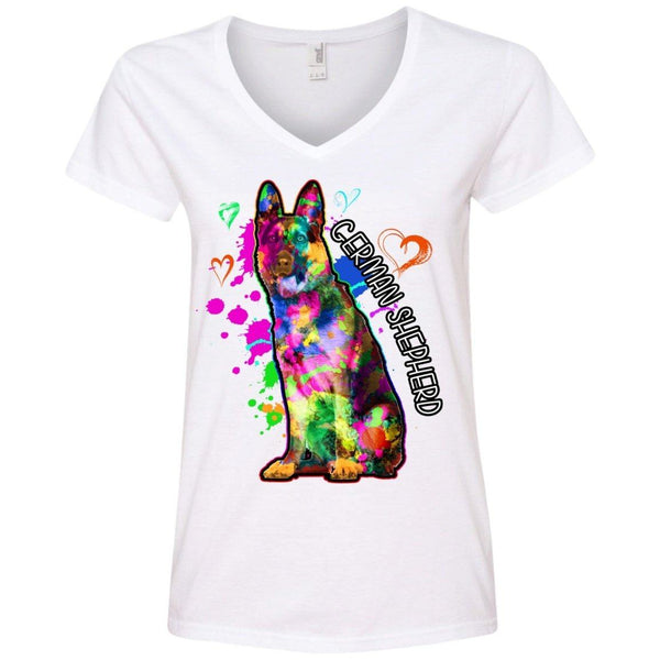 Apparel - German Shepherd Art Womens