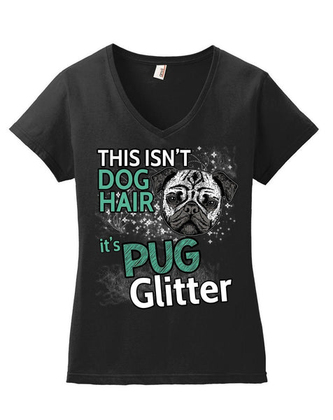 Apparel - Pug Glitter Womens