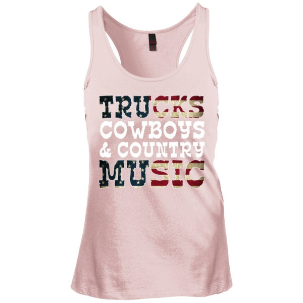 Apparel - Trucks Cowboys Country Music Tank
