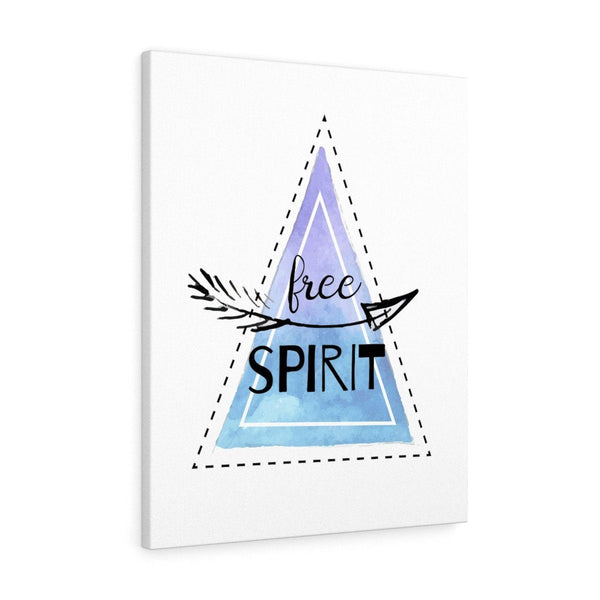 Free Spirit Stretched Canvas Print