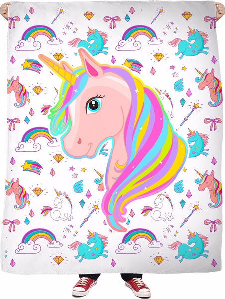 Unicorn Fantasy Fleece Blanket